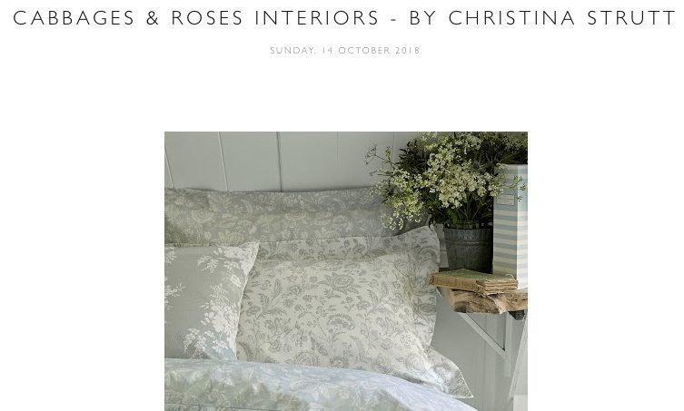 CABBAGES & ROSES INTERIORS – BY CHRISTINA STRUTT