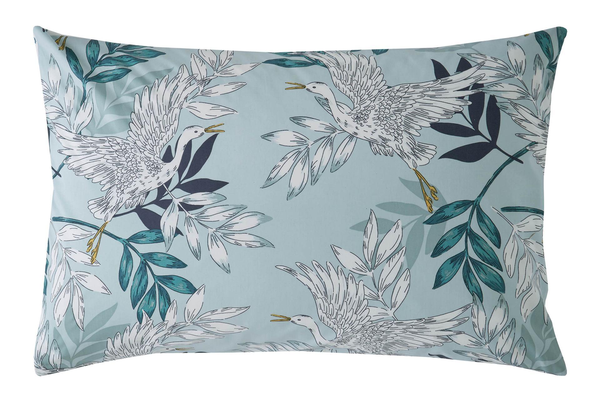 Oriental Crane /& Palm